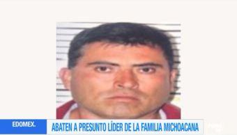 Abaten Charco lider Familia Michoacana Edomex