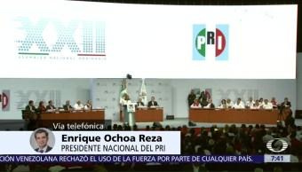Enrique Ochoa, habla, Despierta, candidaturas
