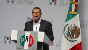Enrique Ochoa Reza, líder nacional del PRI