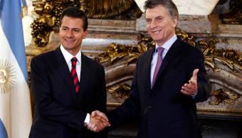 Enrique Peña Nieto y Mauricio Macri