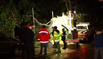 Hallan cuerpo de niña que cayó a un río en Álvaro Obregón