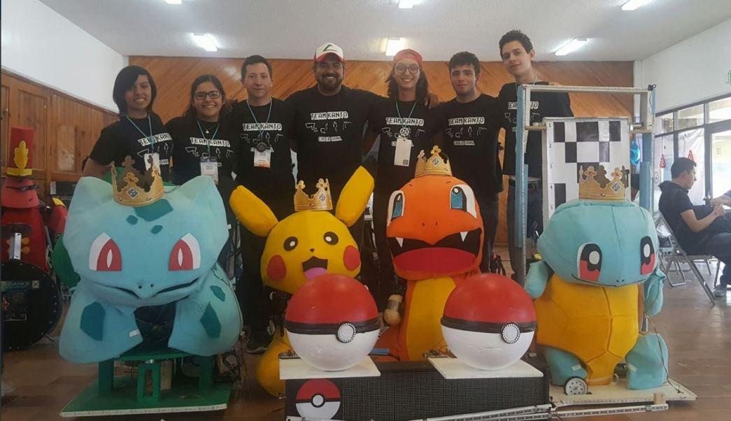 Estudiantes de la UANL ganan concurso de robótica