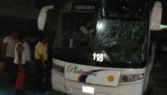 explosion bordo autobus central camionera cordoba deja muerto