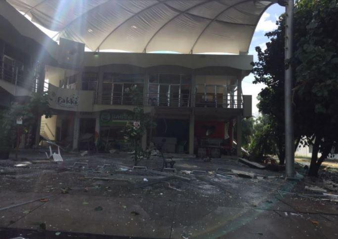 Se registra una explosión en centro comercial de Colima