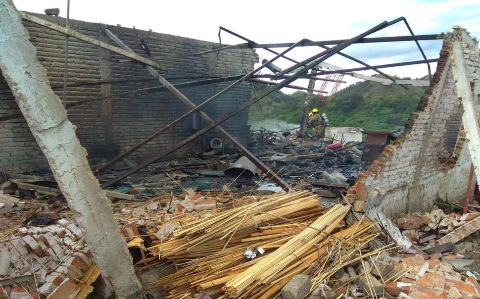 Explota polvorín en en Zapopan Jalisco un muerto