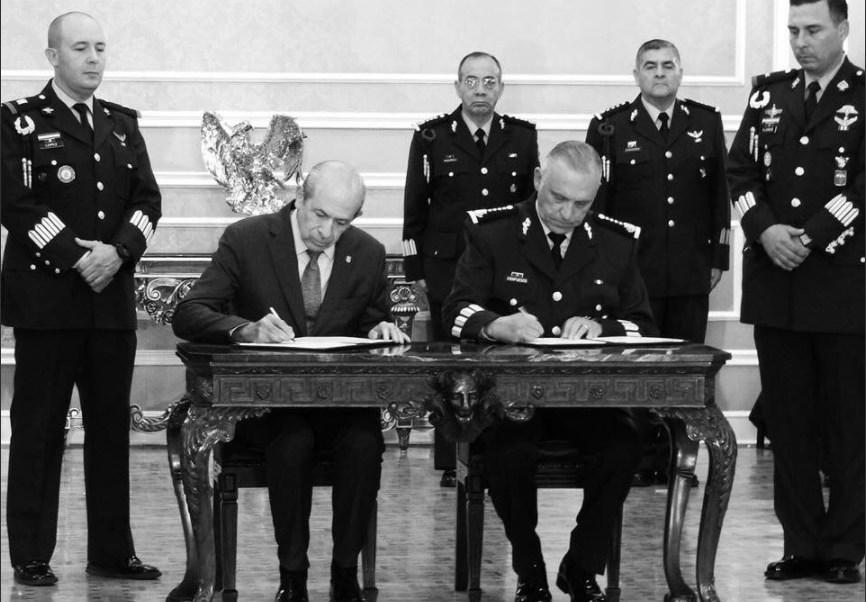 IPN y Sedena firman convenio de colavoracion en sede militar