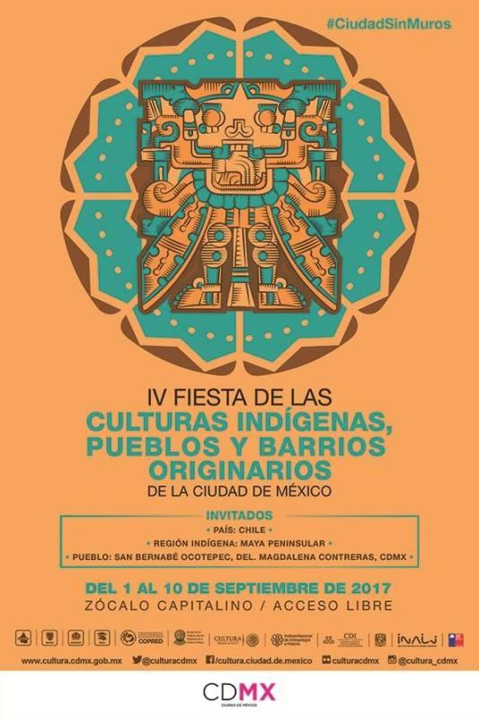 Fiesta de las Culturas Indigenas, Pueblos y Barrios Originarios de la Ciudad de México