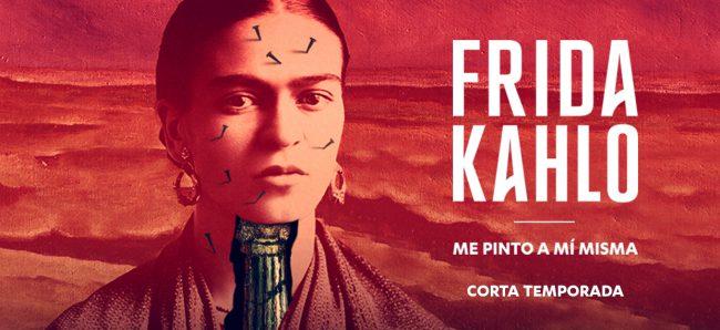 Frida Kahlo, me pinto a mí misma