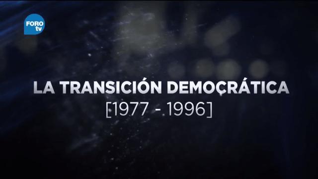 Grandes Transformaciones de México La transición democrática