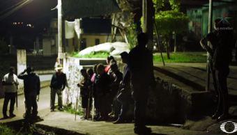 Habitantes combaten delincuencia con cuadrillas nocturnas en Jilotepec, Veracruz