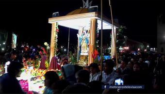 Huamantla Celebra Noche Nadie Duerme Pueblo Magico
