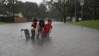 Las lluvias por Harvey, en niveles históricos