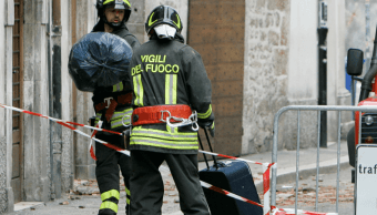 Imagen de archivo de bomberos en Italia