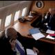 Imagen de Trump hablando con Rajoy, publicada por la Casa Blanca en Instagram