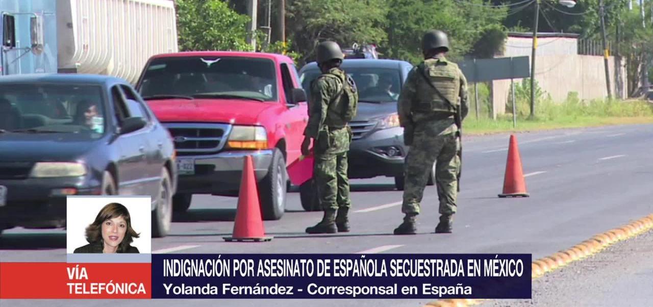 Indignación Asesinato Española México