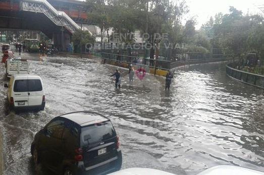 inundaciones en circuito interior y oceanía