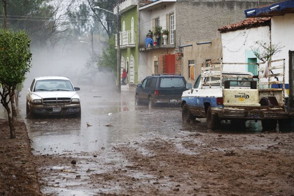 Aseguradoras pagaron 155 millones por lluvias entre enero y junio