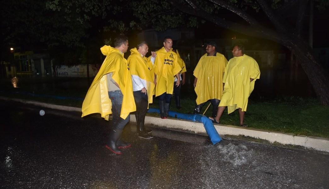 Reportan saldo blanco tras paso de Franklin en Campeche