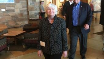 Janet Yellen en reunión de banqueros en Jackson Hole