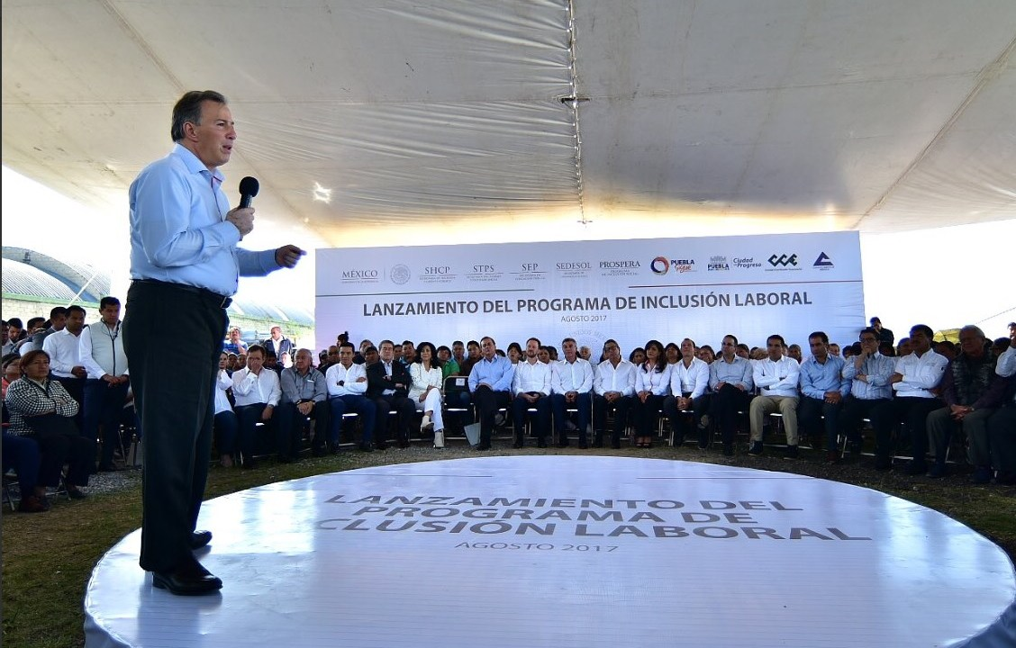 Encabeza Meade lanzamiento programa inclusión laboral