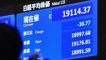 La Bolsa de Tokio empieza la semana con retrocesos