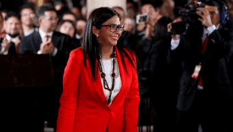 La excanciller Delcy Rodríguez, presidenta de la Constituyente