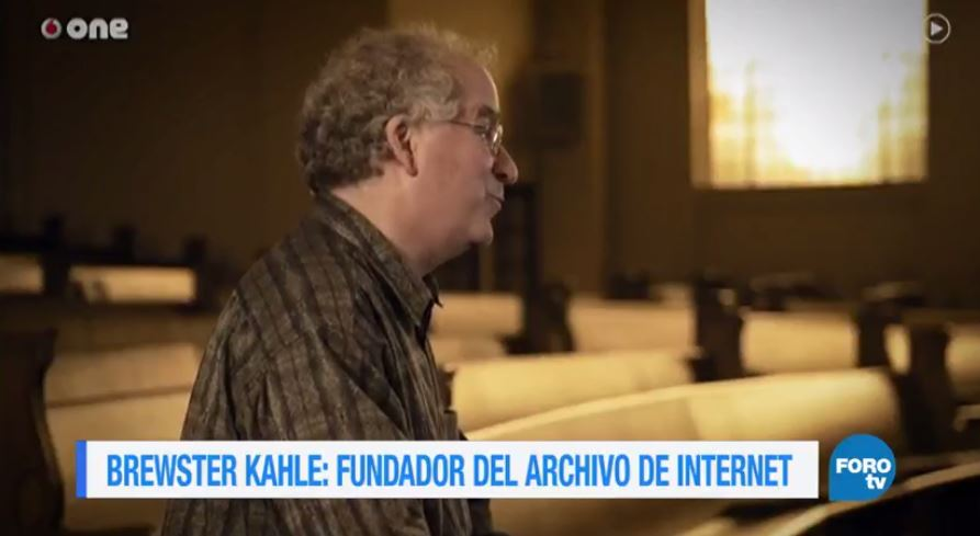 historia Brewster Kahle Fundador archivo internet