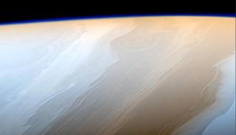 La nasa publica imagenes de las nubes de saturno