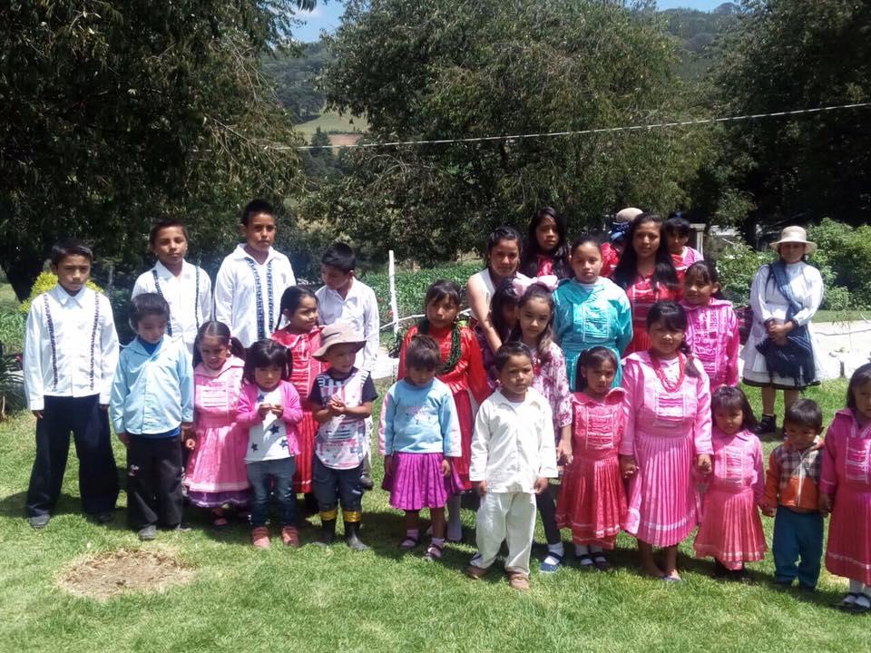 La niñez mazahua conserva su lengua