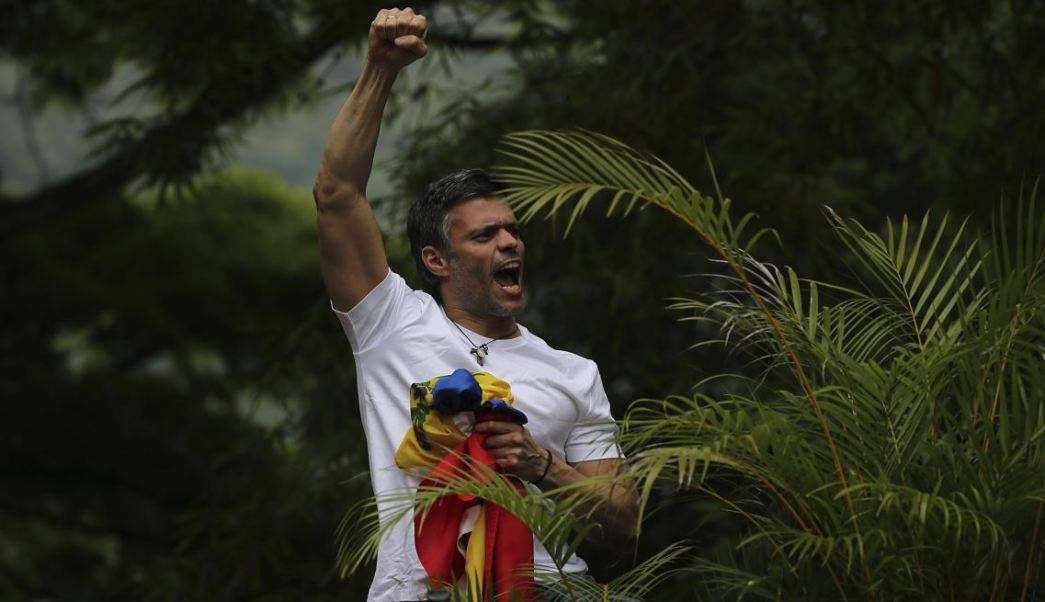 Leopoldo López, opositor venezolano. (AP, archivo)