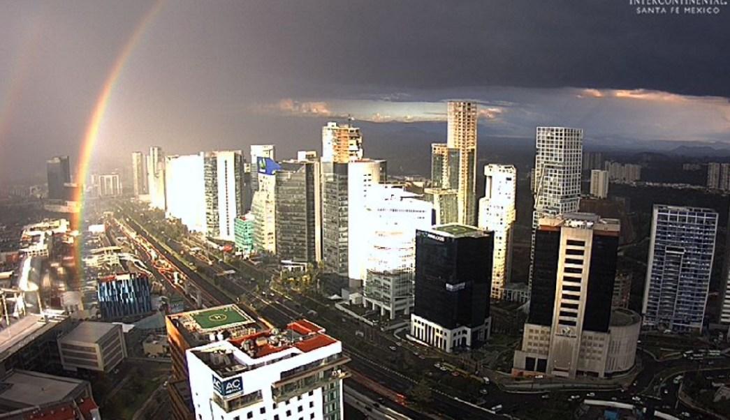 se registran lluvias intensas ciudad mexico
