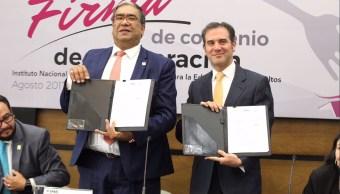 INE acatará sentencia del TEPJF sobre cancha pareja