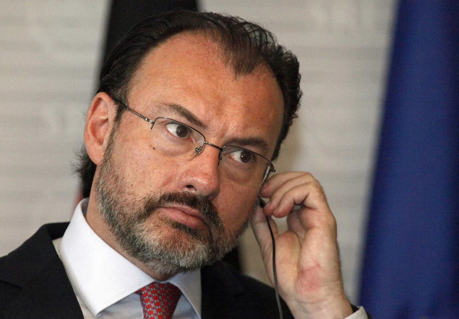 'Sin sorpresas: ya estamos en una negociación', responde Videgaray a Trump