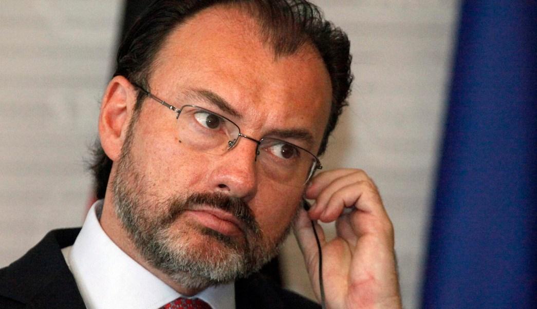Luis Videgaray, secretario de Relaciones Exteriores de México