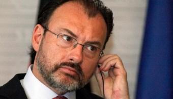 Luis Videgaray, secretario de Relaciones Exteriores