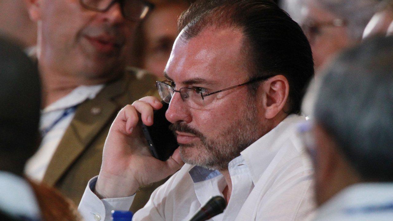 Luis Videgaray realizará gira de trabajo a La Habana, Cuba