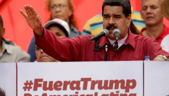 Maduro responde con un 'Go home' a advertencias de Trump