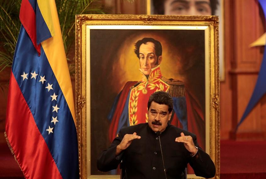 Maduro reconoce relación Venezuela y EU, en el peor momento