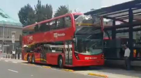 choque nuevo metrobus violación protocolo traslado