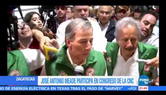 Meade participa en el Congreso de la Confederación Nacional Campesina