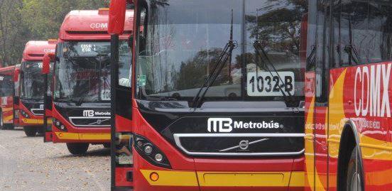 Estación de Metrobús en la Ciudad de México