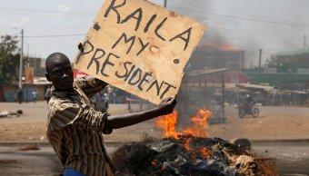 Reeleccion Uhuru Kenyatta desata violentas protestas Kenia