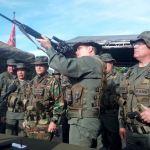 Venezuela inicia ejercicios militares junto a marchas 'antiimperialistas'