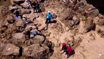 Montañistas relatan su tragedia en el Ajusco