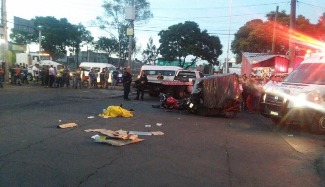 Un hombre muere tras ser atropellado en iztapalapa