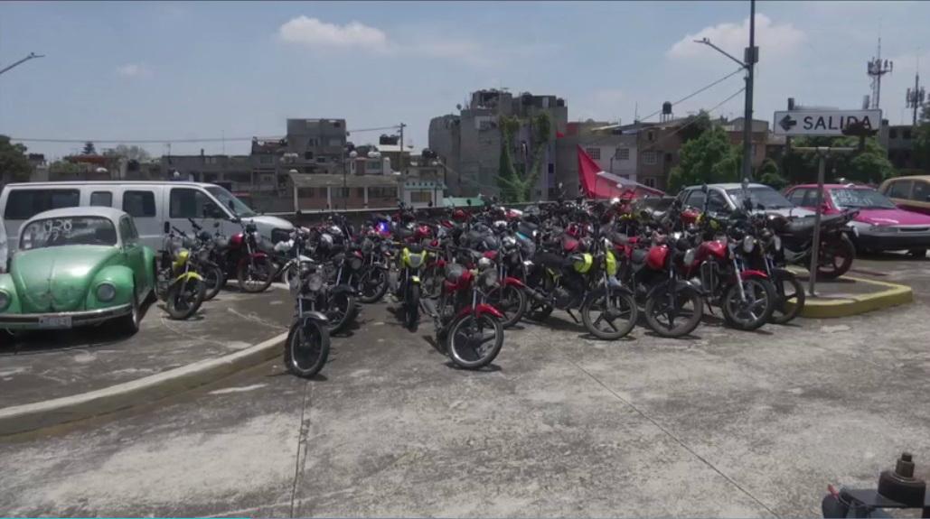 Remiten 10 bicitaxis al corralón tras operativo en La Merced