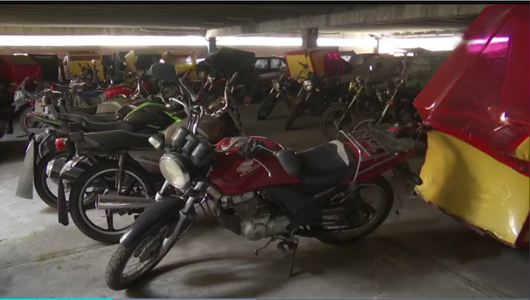 Mototaxis colman corralon de la CDMX