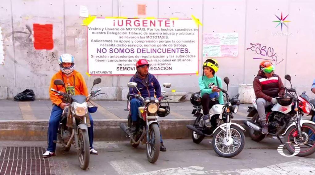 Mototaxis cambian manera dar servicio Tláhuac