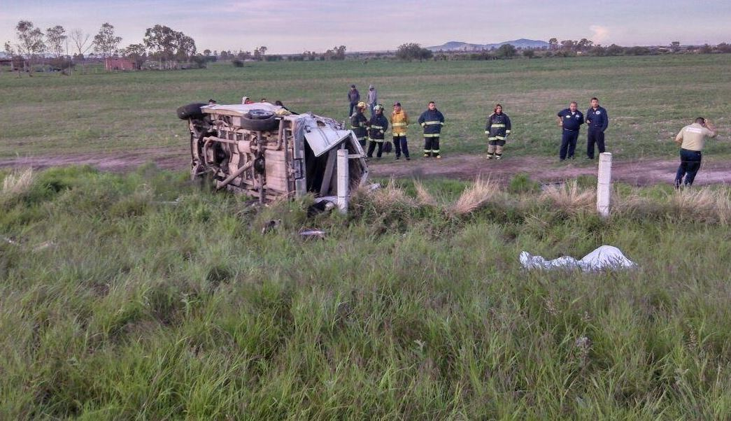 mueren cinco personas en accidente de aguascalientes