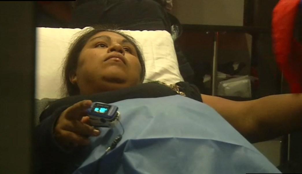 Una mujer batalla por conseguir un hospital